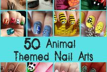 Cute classic animals / Nails