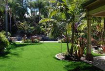 Home is where the heart is / We provide synthetic grass for all types of homes and playgrounds. Whether you want our grass in your backyard, pet run or on your roof, in your kitchen..you name it, we've got it for you!
