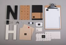 Note house / Identity for stationery boutique