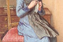 Sewing In Art / Sewing has historically been a favorite pastime. It shows up in art, stories, and even history.