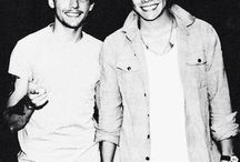 Stylinson ♡  / Louis Tomlinson and Harry Styles.