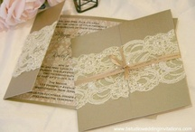 LACE AND PEARLS WEDDING THEME / by Sarah Elsamra