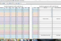 Homeschool Planning and Organizing