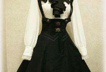 old dress desgn