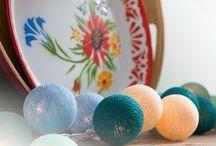 Cottonballlights woon inspiratie / Onze lichtslingers zijn echt overal in je huis een sfeermaker!
