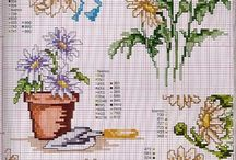 cross stitch margaretka