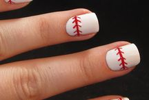 Sports Nail Art / by Rose Stumbaugh