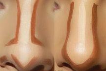 Наложение макияжа