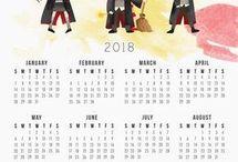 Harry Potter kalendár