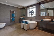 Bathroom & Tiling Design / Bathroom projects by MiCasa.  Tiling designed and supplied by MiCasa Tiling Studio in Northwood, Middlesex