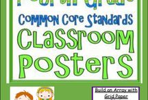 Math Word Wall {4th Grade} Set 2 / Math Word Wall {4th Grade}. Teaching fourth grade this year? This resource is for teachers and parents with students in 4th Grade and can be used in your classroom or home to help students visualize math concepts.