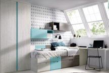 Dormitorios Juveniles Modernos / En la seccion de Juveniles Modernos encontraras juveniles con diseños y esteticas mas actuales de ultima generacion.