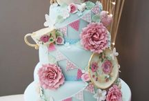 Beautiful, decorated cakes, cupcakes & biscuits.
