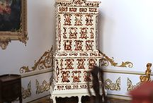 Miniature Interiors / Detailed, hand-painted miniatures of antique furniture.
