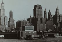 New York vintage photo album