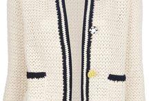 roupas em crochet