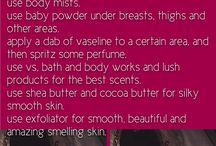 pamper tips for beautiful skin n body