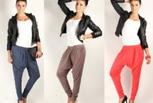 Pantaloni 'harem style'