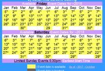 Gardens at Prince Erik Hall Event Calendars