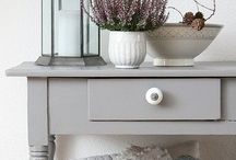 French Grey / Get the French look with grey! How to create an elegant and classic look for your home with French style furniture in shades of grey.