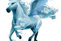 elemek és lovak