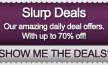 SLURP DEALS / Up to 70% Off wines, beers and spirits. The best deals daily on the Internet
