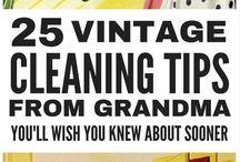 grandmas vintage  cleaning tips
