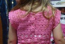 Vestido Croche Infantil