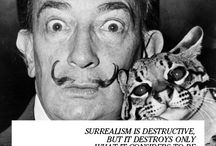 Surrealism.  / Surrealistic images.
