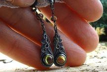 kolczyki handmade