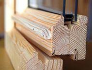 Ferestre termopan din lemn