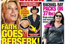 National Enquirer Covers / by Celeb Dirty Laundry