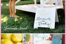 Lemonade stand shoot / by Angie Seaman