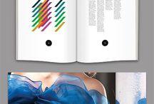 Portfolios / Referências de diagramações, cores, padrões e organização para portfolios de arquitetura.