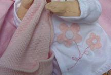 textil babák / varrott babák és állatkák
