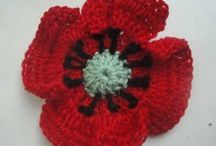 crochet flowers & shapes / by Bianca Sasin