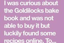 GOLDILOCKS BAKE BOOK
