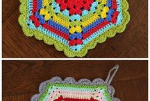 potholders dishcloths coasters