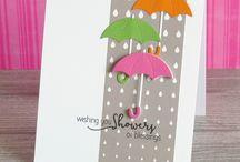 Shower cards