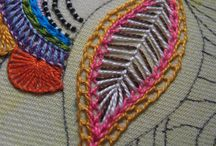 Embroidery modern