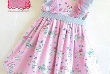 Dresses to sew for little ones