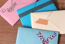 Fold kuverter og æsker