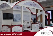 UHS stall on 4th Day of Arab Health 2015 / It was a great experience for University Hospital Sharjah to be part of Arab Health 2015. Thank you all for your wonderful support!