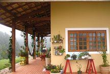 cozinha e quintal escolhidos