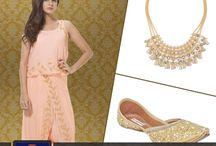 Perfect Trinity Match - Outfit, jewellery and juttis