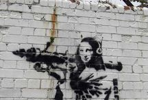 Banksy & Other Street Art / by Pip Boy