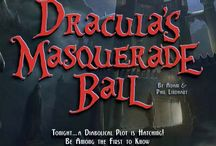 Dracula's Masquerade Ball / Dracula is hosting his annual Masquerade Ball with his 3 vampire brides. He has taken Dr. Victor Frankenstein hostage threatening to kill his creations, Frankenstein & Bride of Frankenstein, if he doesn't reveal his secrets of creating life. Dracula wants these secrets so that he can create an army of Monsters and take over the world!