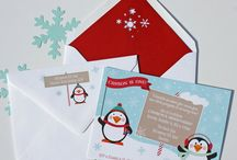 Penguin Party / Fun ideas for a winter party or penguin theme birthday party.