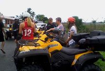 Quads / Go Trek Tours - We offer an exciting and unique way of exploring our natural environment. Come and discover Fiji's interior and spectacular treks.  Get on a 500cc quad bike and head inland on a 3 hour thrilling journey.