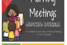 Teachers Pay Teachers - Morning Meetings